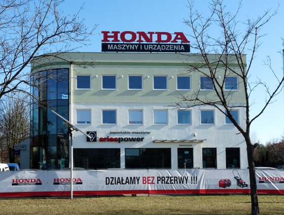 Salon Firmowy Aries Power i Centrum Honda Marine